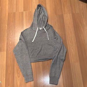 Garage Cropped Sweatshirt